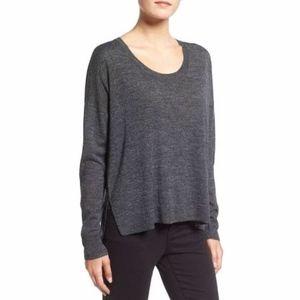 NWT Gray Merino Wool Sweater